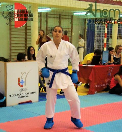 Gabriela sagra-se Campeã na Iª Liga Olímpica de karaté!