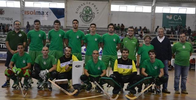séniores – FC BOM SUCESSO – 1×4 – HC MEALHADA