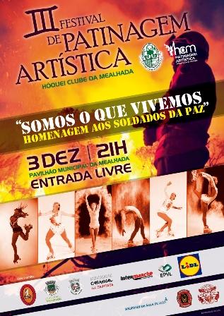 HC MEALHADA ORGANIZA III FESTIVAL DE PATINAGEM ARTÍSTICA