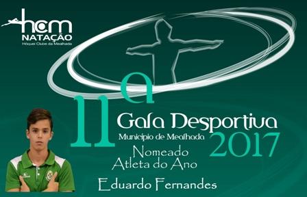 Eduardo Fernandes nomeado para atleta do ano!