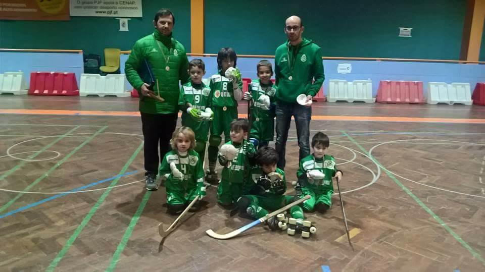 Bambis do HCM participaram no 4º Torneio Esperanças S. Gonçalinho.