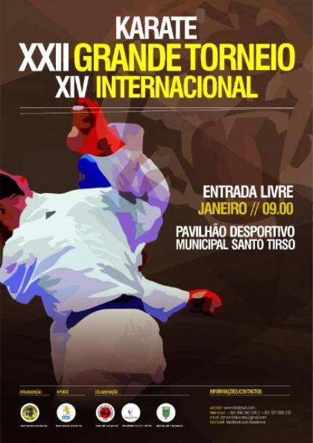 karaté – XXIII Grande Torneio de Karate de Vila das Aves – 21 de Janeiro