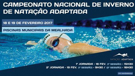 Natação adaptada no próximo fim-de-semana nas Piscinas Municipais da Mealhada