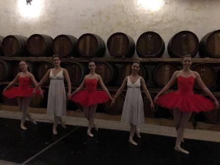 Academia de ballet do HCM esteve presente nos sons da Bairrada