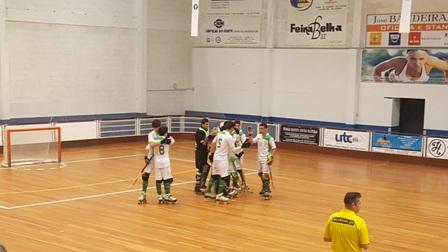 sub17 começam Campeonato Nacional com vitória  2-8 em Carvalhos
