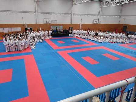 Karaté do HCM esteve presente em Estágio de formação em Braga