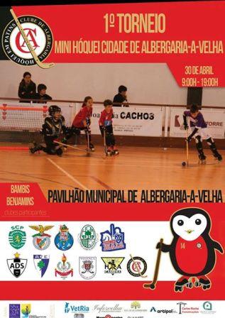 Bambis e benjamins do HCM vão estar presentes no 1º Torneio de Mini-hóquei Cidade de Albergaria