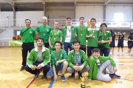 Sub-15 do HCM participou no IX Torneio Internacional Cidade de Tomar