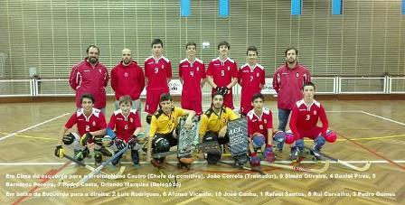 Dois atletas do HCM representam a AP Aveiro no 41º Torneio Inter-Regiões