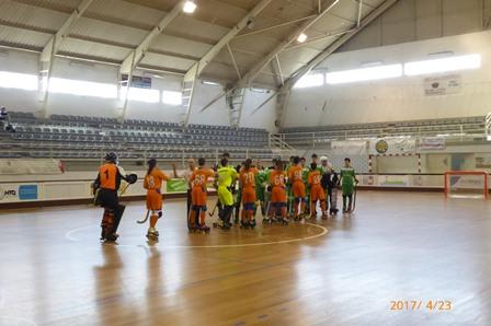 """sub15 do HCM ficam """"à porta"""" da final da Taça Aveiro/Coimbra"""