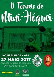 HC Mealhada e AP Aveiro organizam 2º Torneio Regional de Mini-Hóquei no dia 27 de Maio
