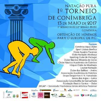Natação do HCM/CCA vai competir, no fim-de-semana, em Condeixa e Vila D'Anta (Espinho)