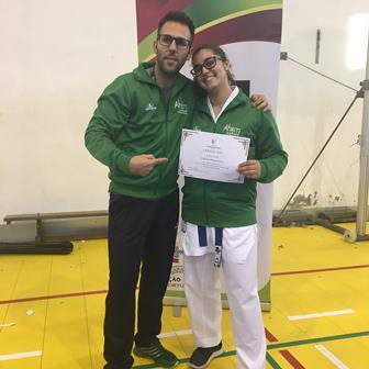 Gabriela Dias sagra-se vice-campeã da Liga Olímpica