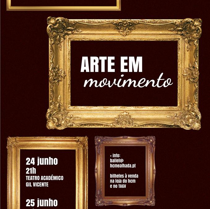 """Academia de dança do HCM e ACM apresentam espectáculo """"Arte em Movimento"""""""
