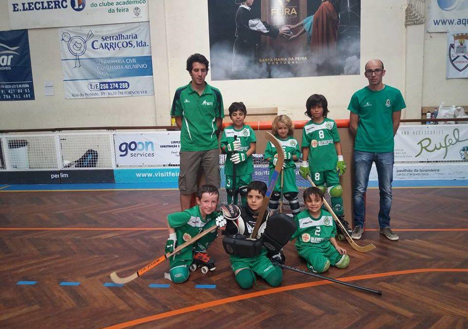 Bambis do HCM presentes no 3º Torneio regional de Mini-Hóquei