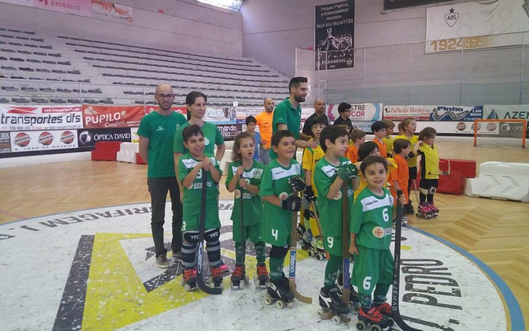 Bambis do HCM encerraram a época no 4º Torneio Regional de Mini-Hóquei em SJ da Madeira