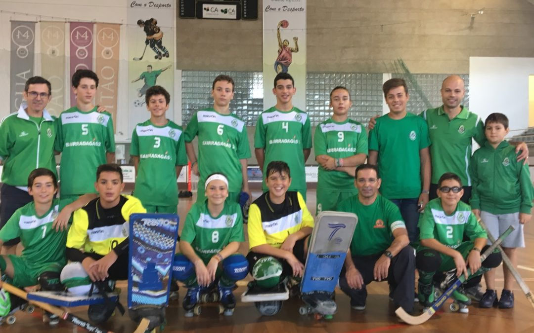 SUB15: HCM – 4 x 1 – FC Oliveira do Hospital