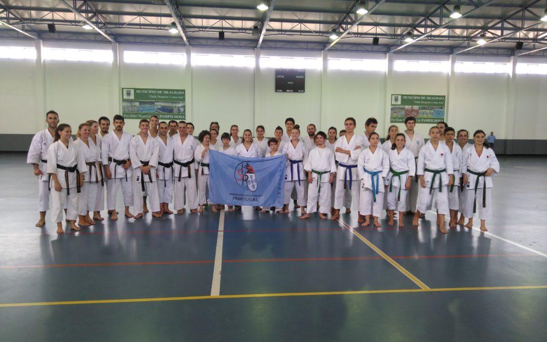 HCM esteve presente no Treino de Avançados do Instituto Shotokan Portugal