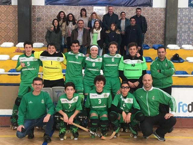Sub15 – FC Bom Sucesso-3 x 5 – HCM