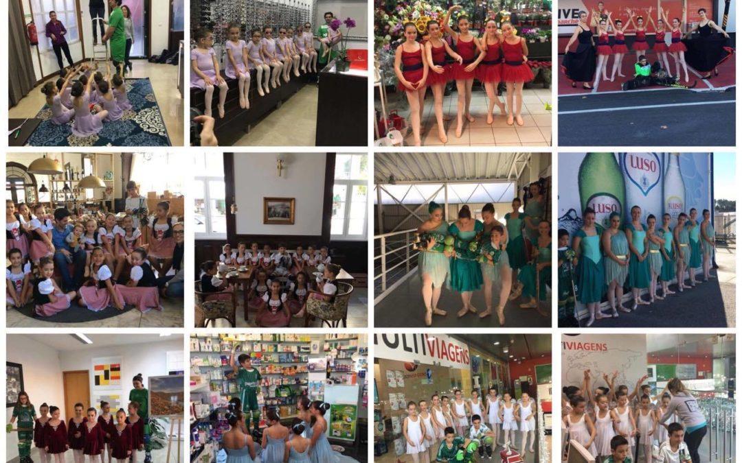 Bailarinas do HCM continuam a preparar o Calendário de 2018