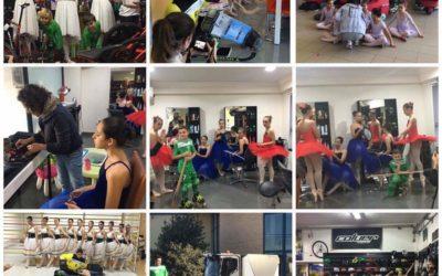 Bailarinas do HCM já preparam Calendário de 2018