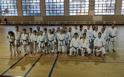 Karaté do HCM esteve na 2ª edição do treino de avançadosTA realizado em Mira