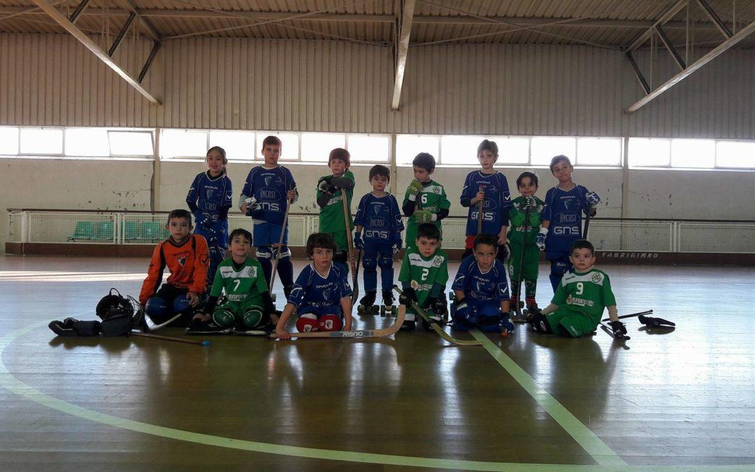 Bambis do HCM realizam encontro convívio com o Anadia FC
