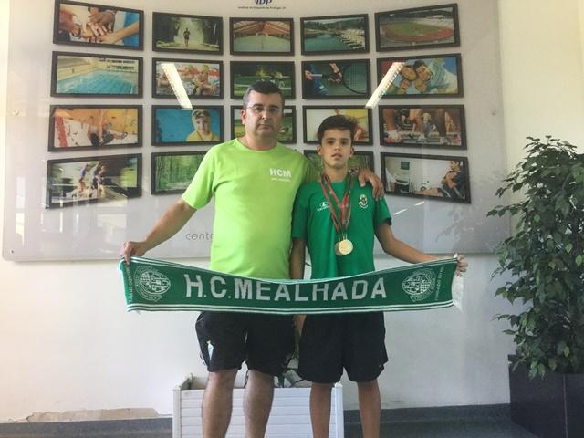 Eduardo Gomes Fernandes e José Eduardo Espinhal Fernandes do HCM/CCA na Seleção Nacional
