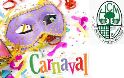 HCM organiza jantar e baile de máscaras de carnaval no próximo dia 10 de fevereiro