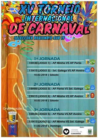 Atletas sub15 do HCM convocados para o XV Torneio Internacional de Carnaval