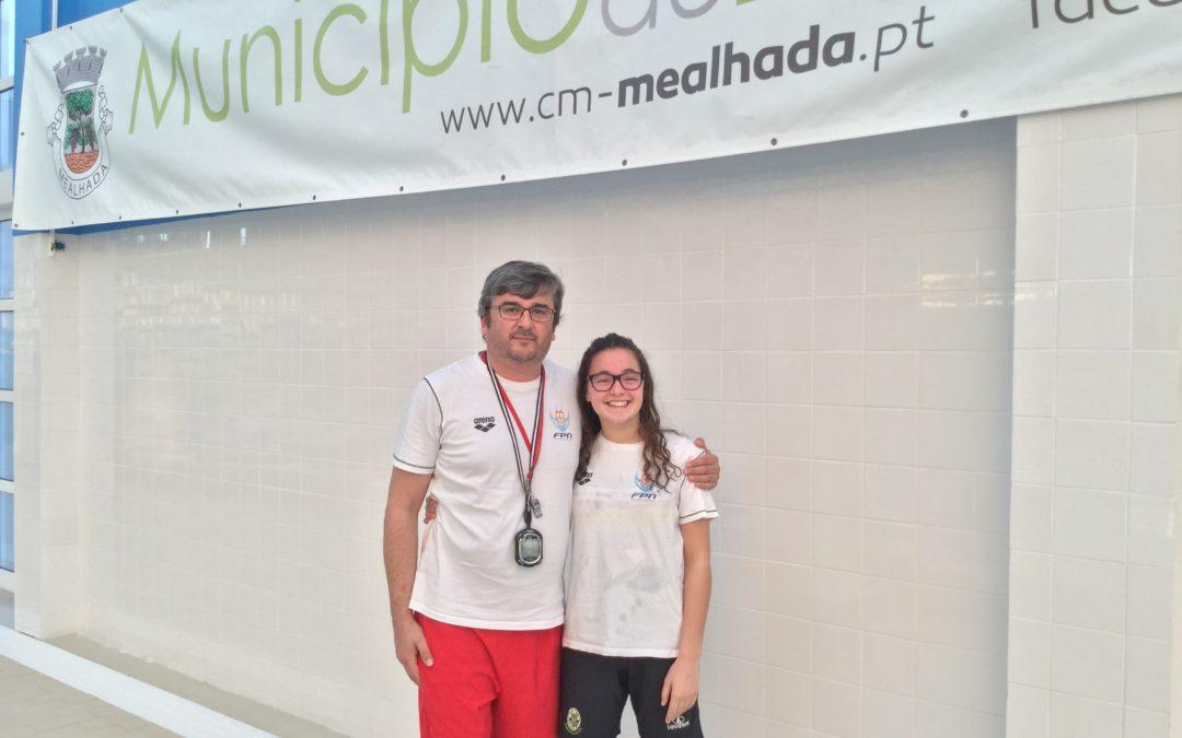 Beatriz Gaspar do HCM/CCA apurada para o Campeonato Nacional de Longa distância