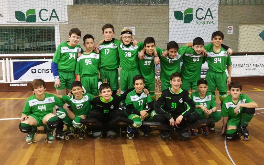 Sub13 – HCM vence e entra no lote restrito das 8 melhores equipas nacionais!