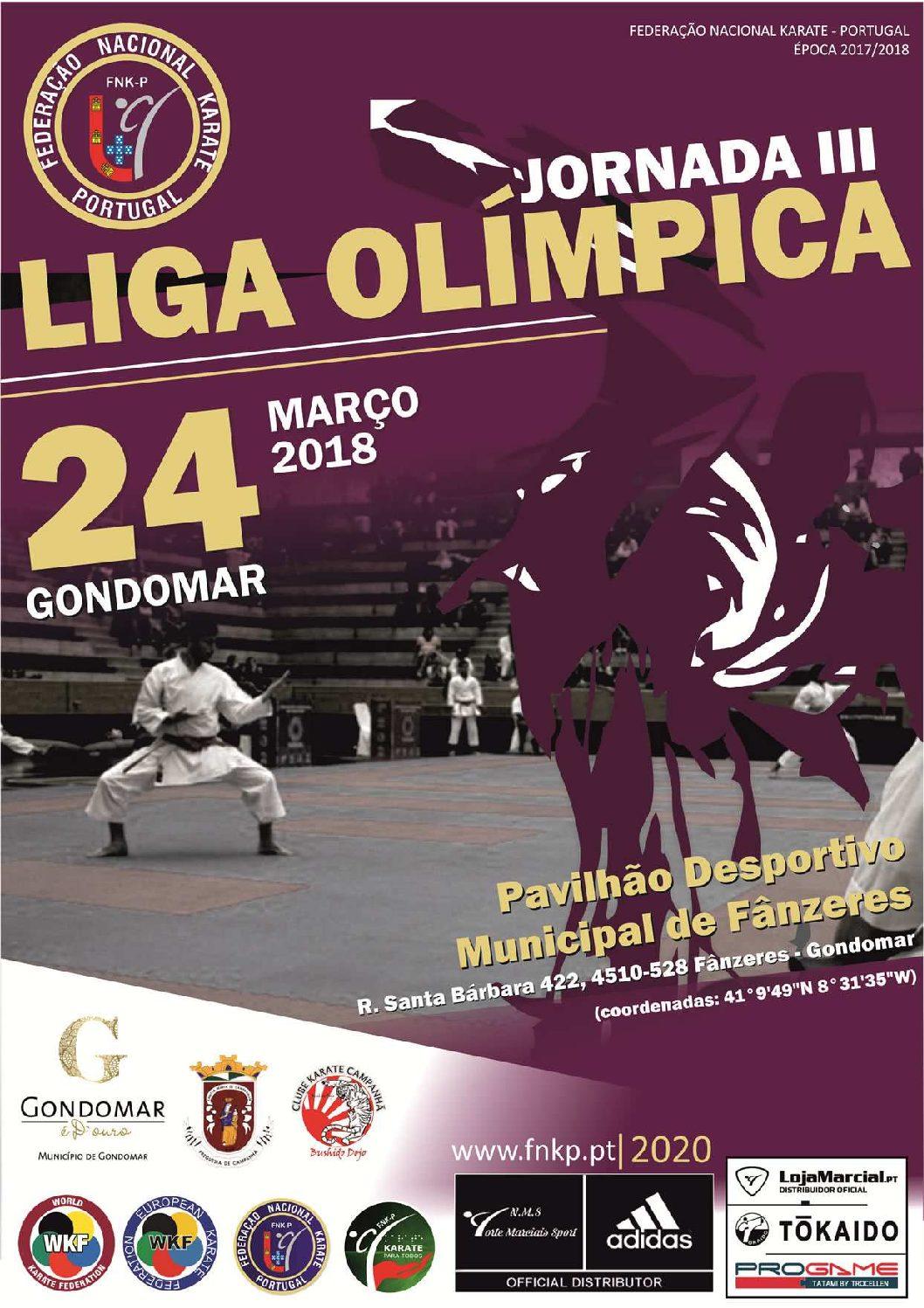 Gabriela Dias vai representar o HCM na 3º Jornada da Liga Olímpica de Karate