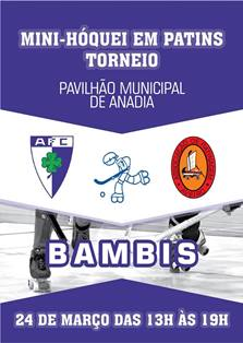 Bambis do HCM participam no Torneio de Mini-Hóquei do Anadia FC