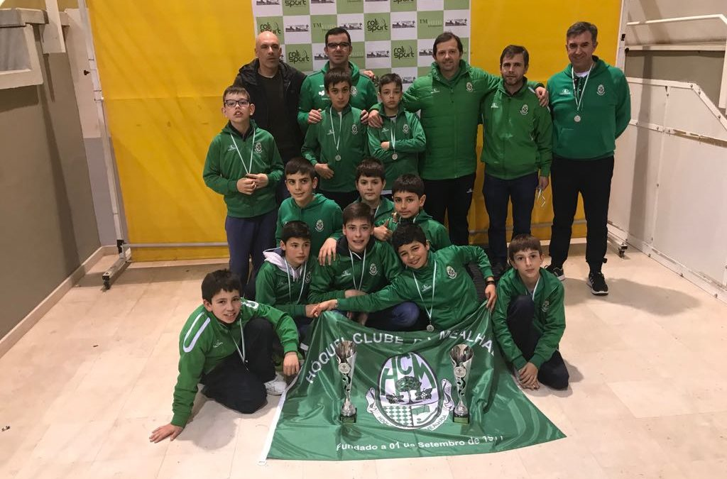 "Sub11 ""B"" e sub13 do HCM estiveram presentes no X Torneio Internacional de Tomar"