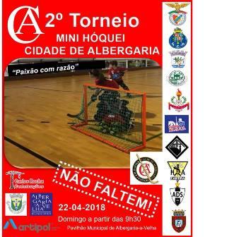 HCM participa no IIº Torneio de Mini-Hóquei do Clube Albergaria de Hóquei em Patins