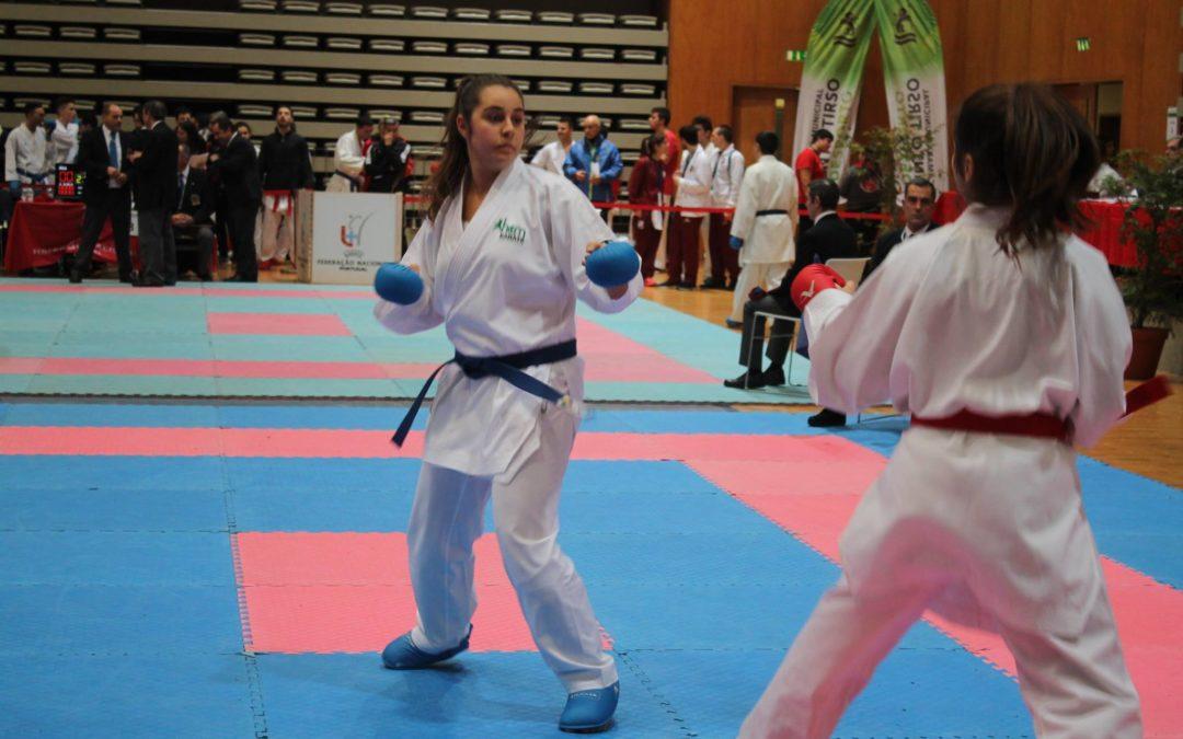 Gabriela Dias sagra-se Vice-Campeã Nacional da Liga Olímpica de Karaté