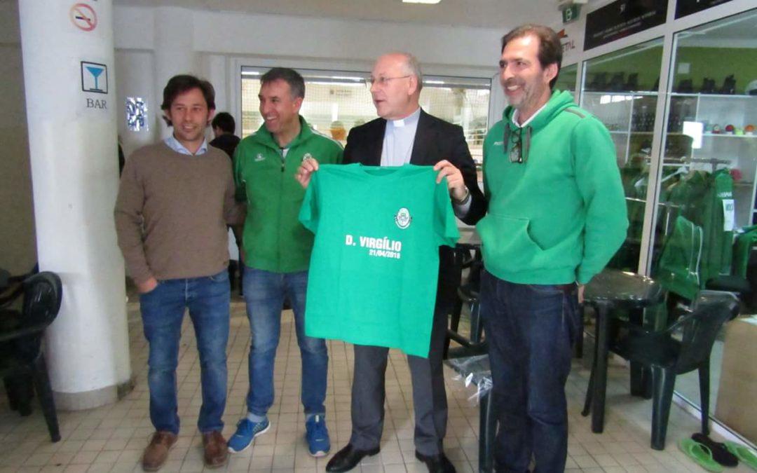 D. Vírgilio do Nascimento Antunes, Bispo de Coimbra,  visitou HC Mealhada