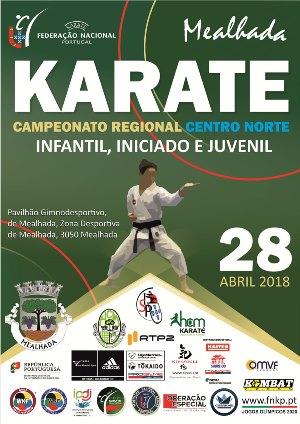 HCM acolhe, a 28 de Abril, o Campeonato RegionalInfantil, Iniciado e Juvenil – Centro Norte
