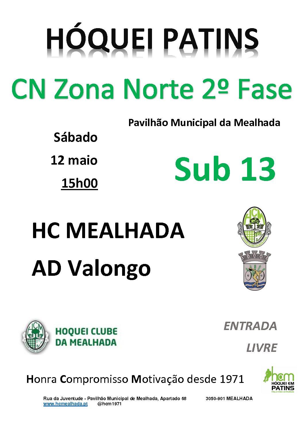 """Sub13 iniciam amanhã em casa a """"caminhada"""" na Fase Final Norte do Campeonato Nacional!"""