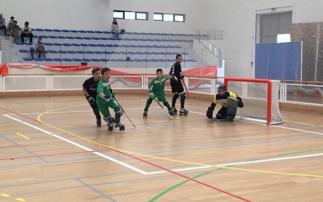 Sub15 do HCM despedem-se do Nacional com derrota em Coimbra