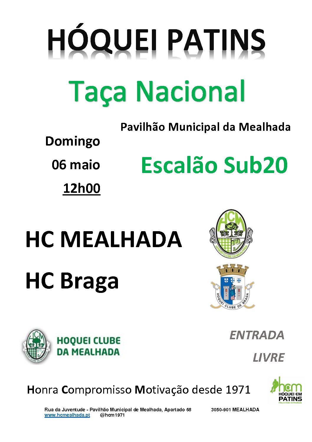 Sub20 do HCM recebem amanhã o HC Braga