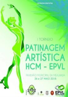 I Torneio de Patinagem Artística HCM/EPVL realiza-se a 26 e 27 de Maio!
