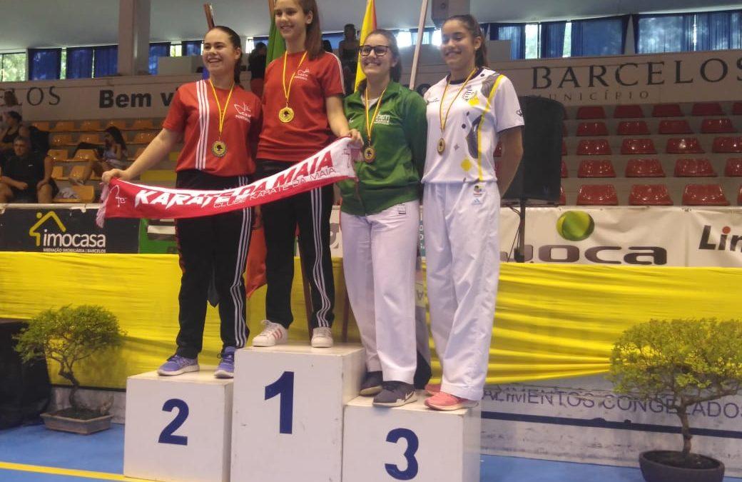 Gabriela Dias do HCM obteve bom resultado em Barcelos