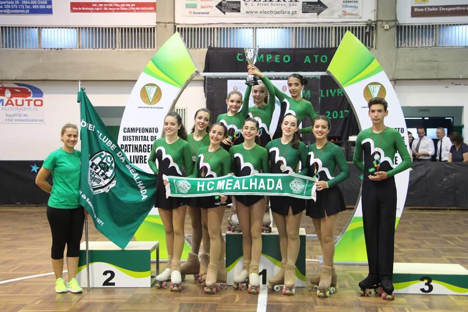 HCM recebe Campeonato Distrital de Patinagem Livre