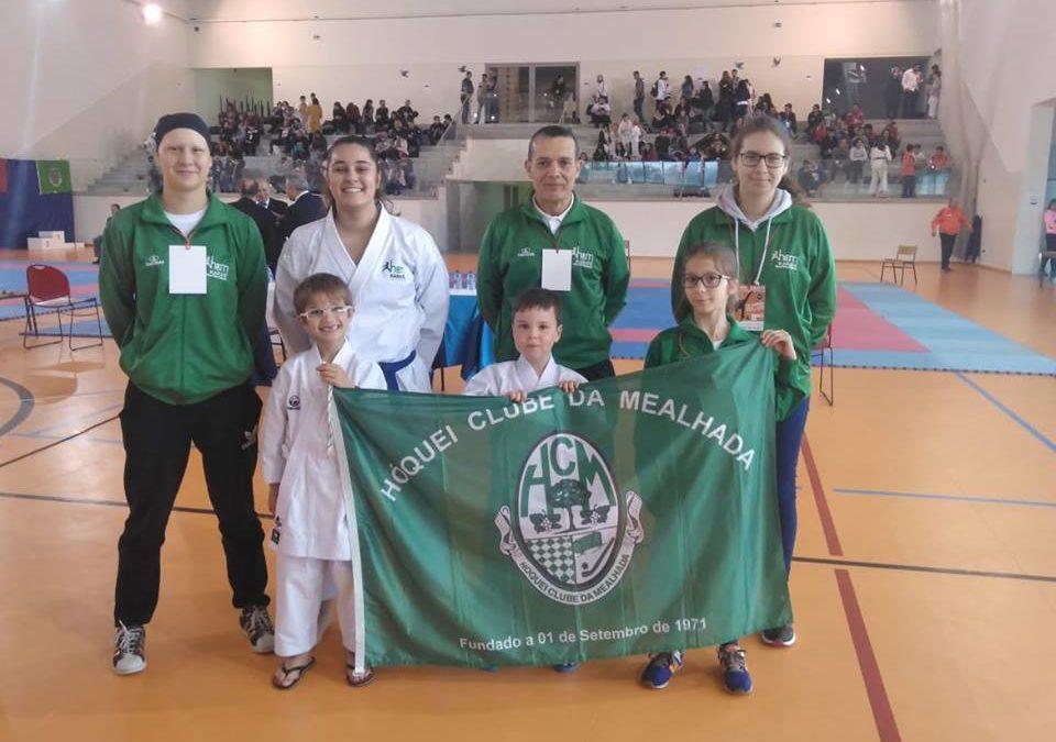 HCM  participou no VII Open de Karate em Baltar