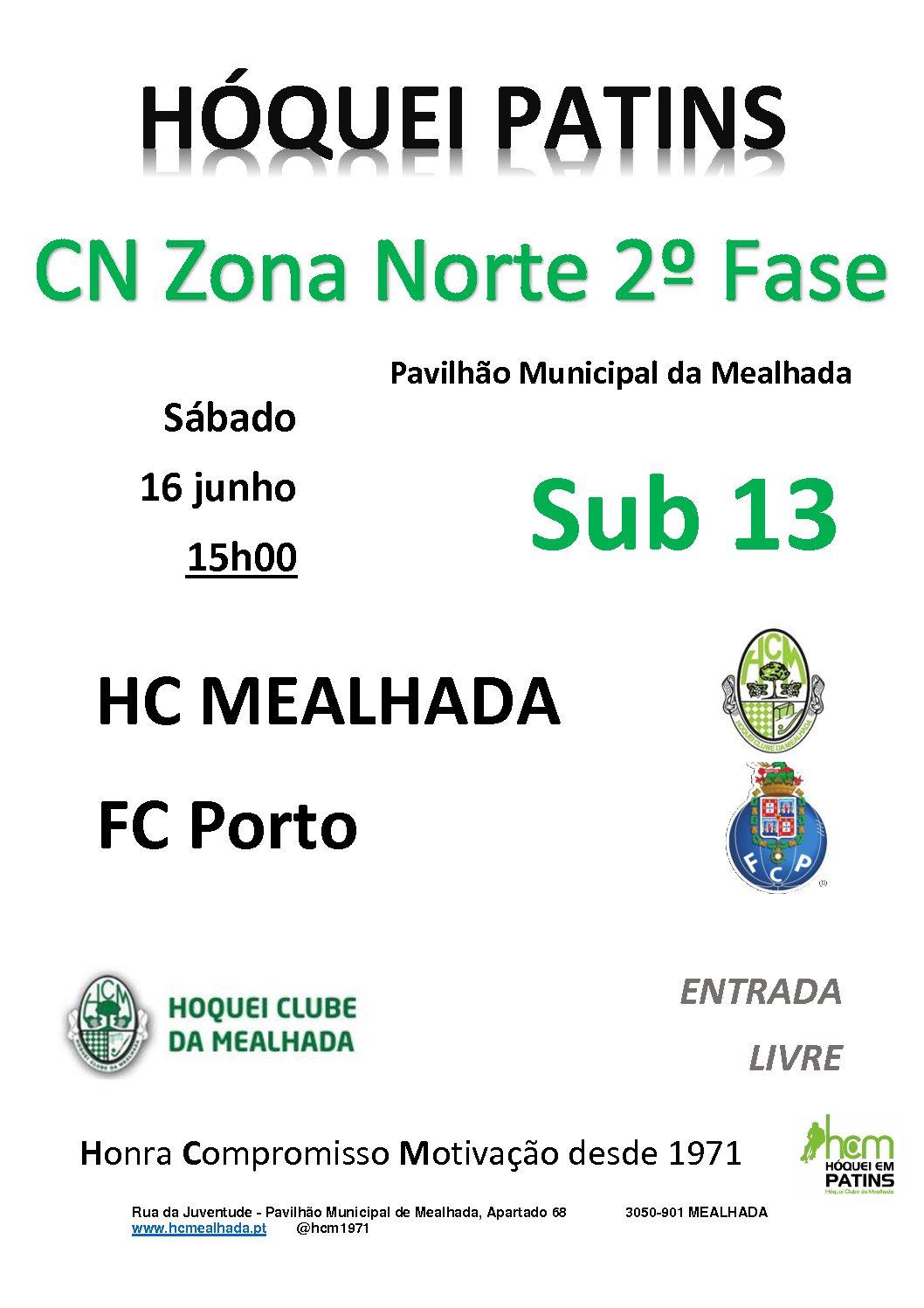 Sub13 do HCM terminam amanhã, contra o FC Porto, a participação na Fase Final do Campeonato Nacional