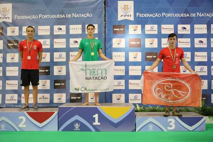 Eduardo Gomes Fernandes do HC Mealhada/Crédito Agrícola sagrou-se Campeão Nacional em várias disciplinas