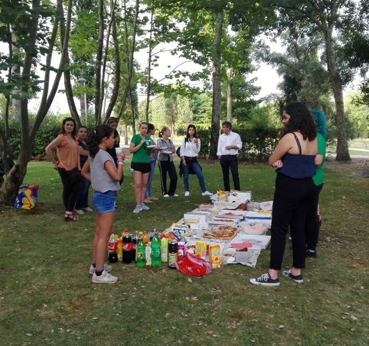Patinagem Artística inicia férias de Verão com lanche convívio no Parque da Cidade