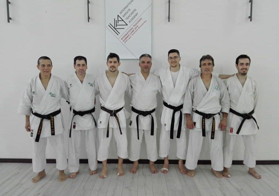 Treinadores de Karaté do HCM estiveram presentes em evento formativo em Itália!